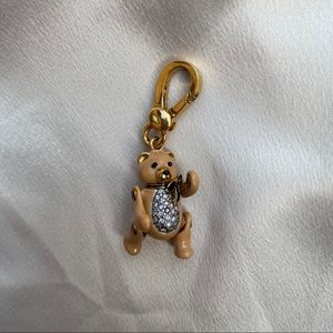 Juicy Couture Brown Teddy Bear Charm